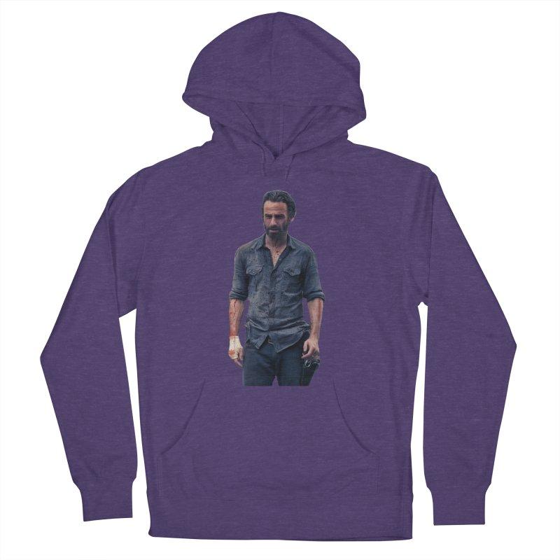 Rick Grimes Men's Pullover Hoody by EvoComicsInc's Artist Shop