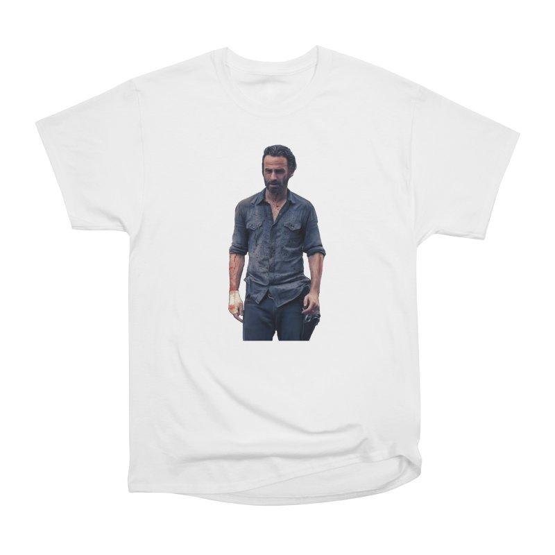 Rick Grimes Women's Classic Unisex T-Shirt by EvoComicsInc's Artist Shop