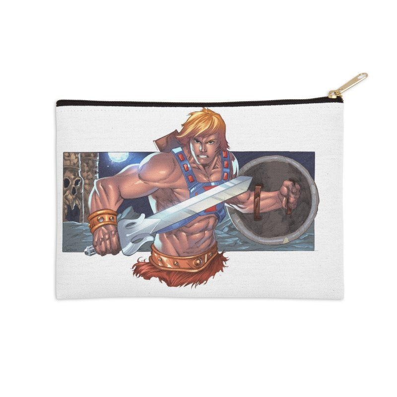 He-Man and The Masters of The Universe Accessories Zip Pouch by EvoComicsInc's Artist Shop