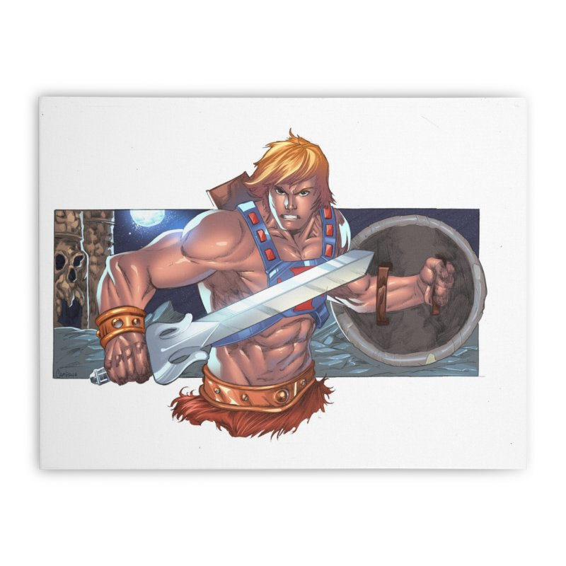 He-Man and The Masters of The Universe Home Stretched Canvas by EvoComicsInc's Artist Shop