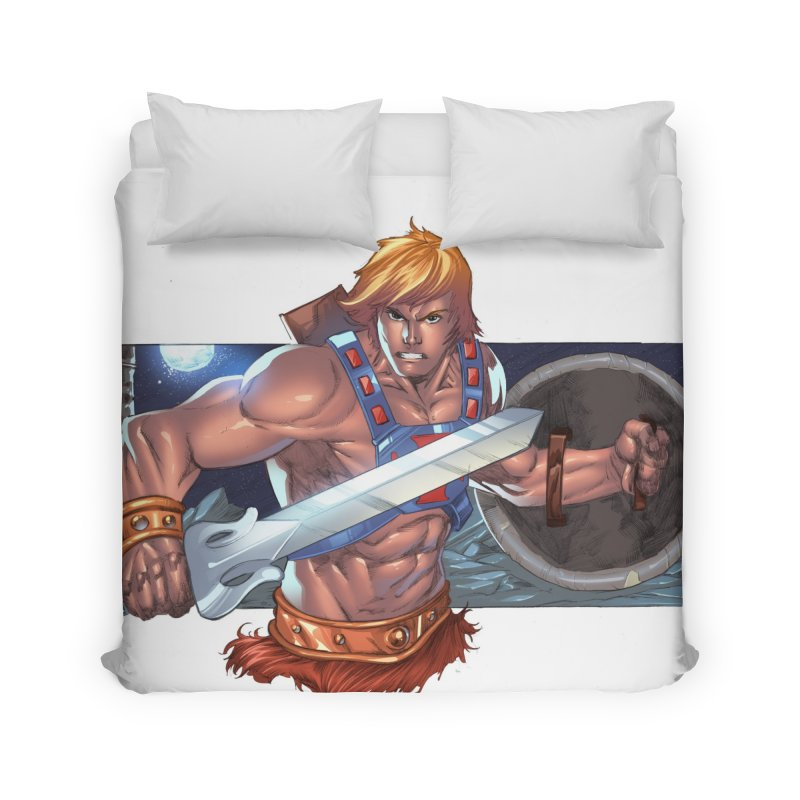 He-Man and The Masters of The Universe Home Duvet by EvoComicsInc's Artist Shop