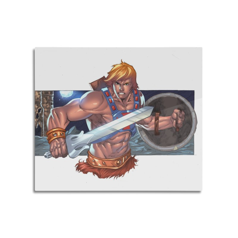 He-Man and The Masters of The Universe Home Mounted Acrylic Print by EvoComicsInc's Artist Shop