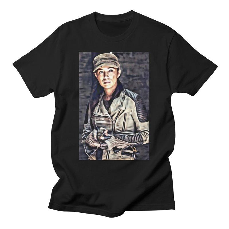 Rosita Espinosa - The Walking Dead Men's T-Shirt by Evolution Comics INC