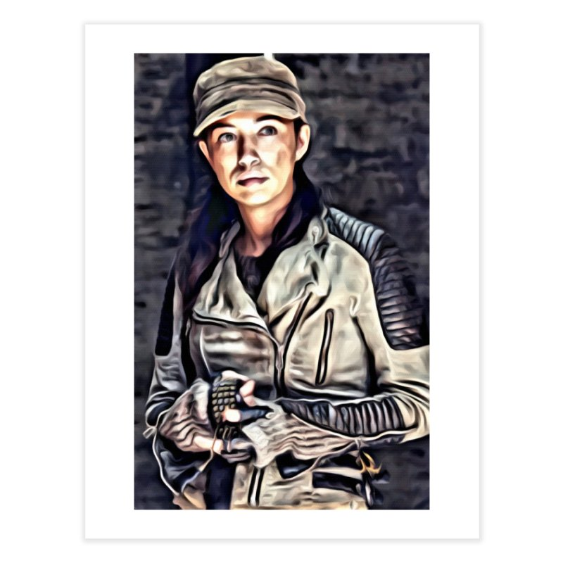 Rosita Espinosa - The Walking Dead Home Fine Art Print by EvoComicsInc's Artist Shop