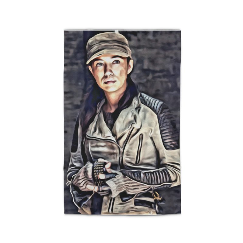 Rosita Espinosa - The Walking Dead Home Rug by EvoComicsInc's Artist Shop
