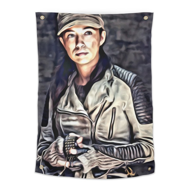 Rosita Espinosa - The Walking Dead Home Tapestry by EvoComicsInc's Artist Shop