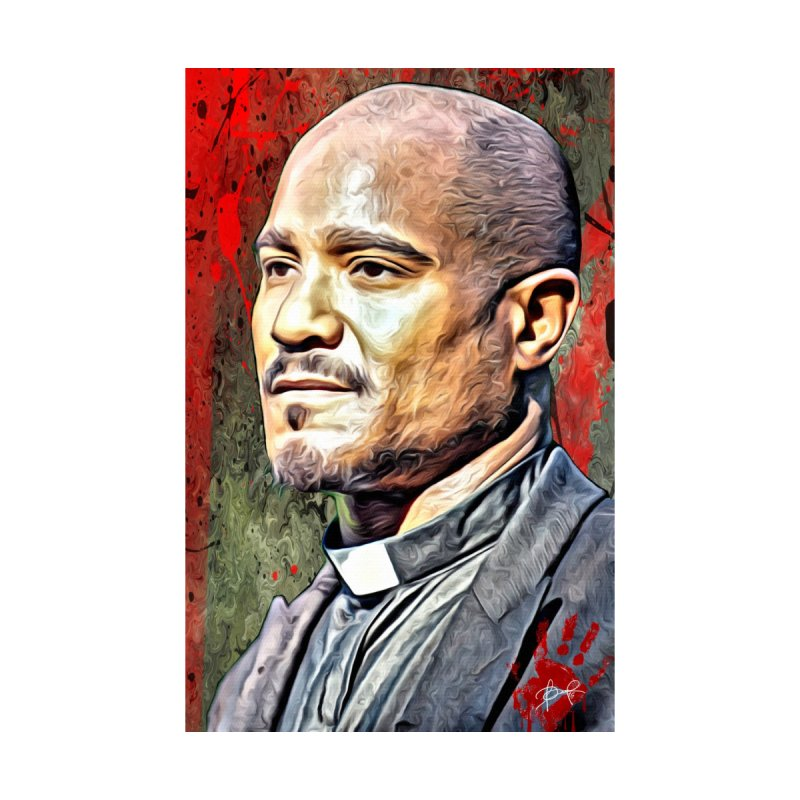 Father Gabriel Stokes - The Walking Dead None  by EvoComicsInc's Artist Shop
