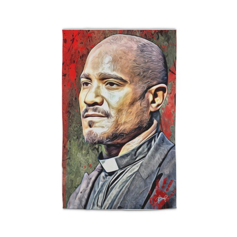 Father Gabriel Stokes - The Walking Dead Home Rug by EvoComicsInc's Artist Shop