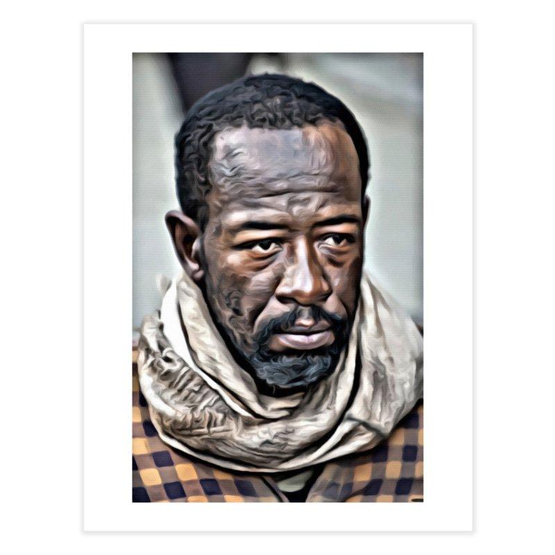 Morgan - The Walking Dead Home Fine Art Print by EvoComicsInc's Artist Shop
