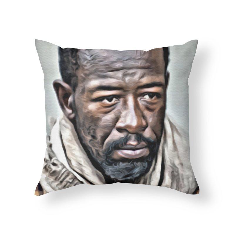 Morgan - The Walking Dead Home Throw Pillow by EvoComicsInc's Artist Shop