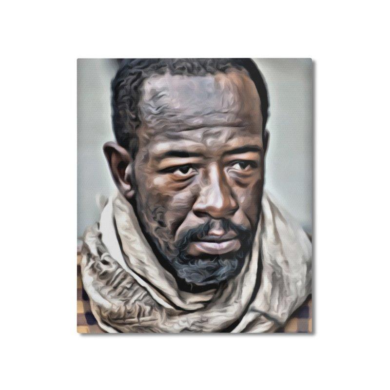 Morgan - The Walking Dead Home Mounted Aluminum Print by EvoComicsInc's Artist Shop