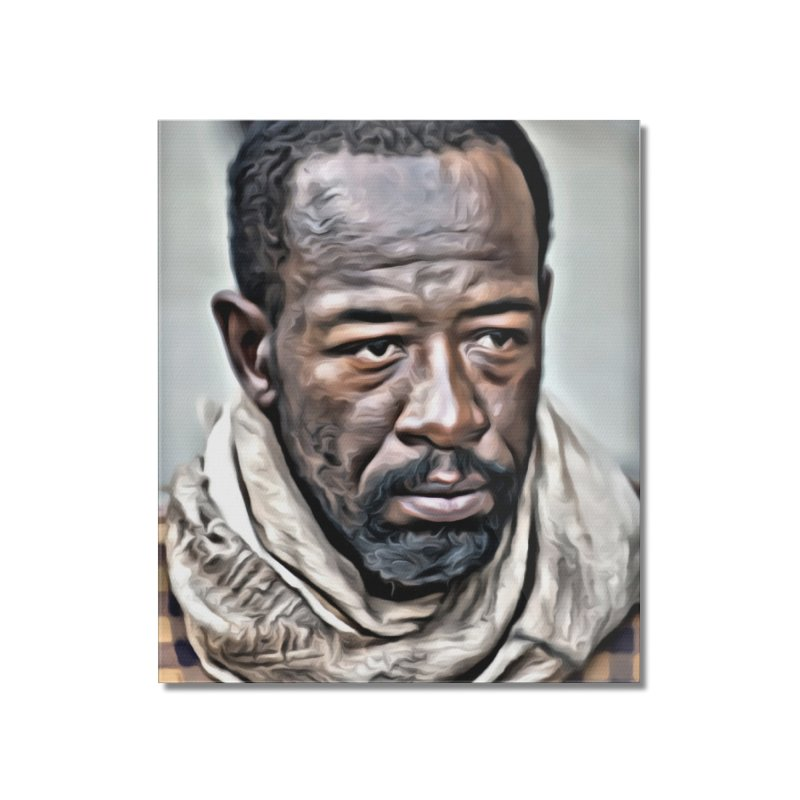 Morgan - The Walking Dead Home Mounted Acrylic Print by EvoComicsInc's Artist Shop