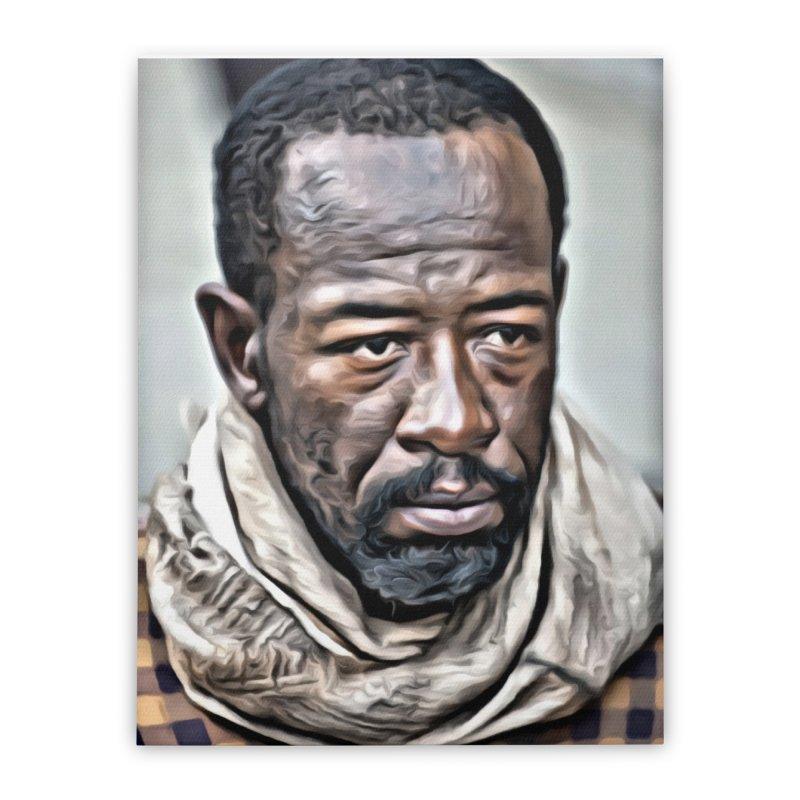 Morgan - The Walking Dead Home Stretched Canvas by EvoComicsInc's Artist Shop
