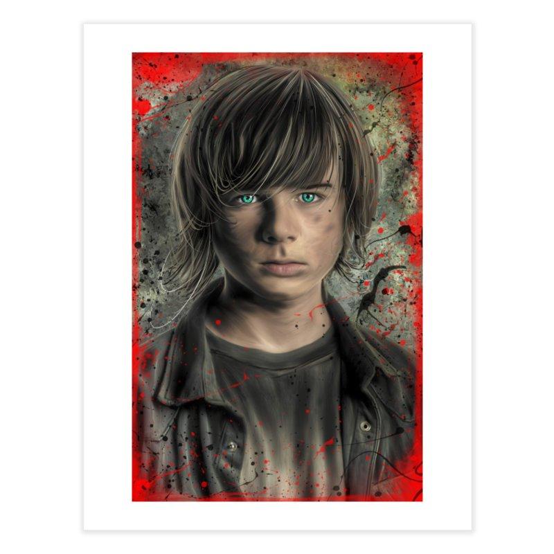 Carl Grimes - The Walking Dead Home Fine Art Print by EvoComicsInc's Artist Shop