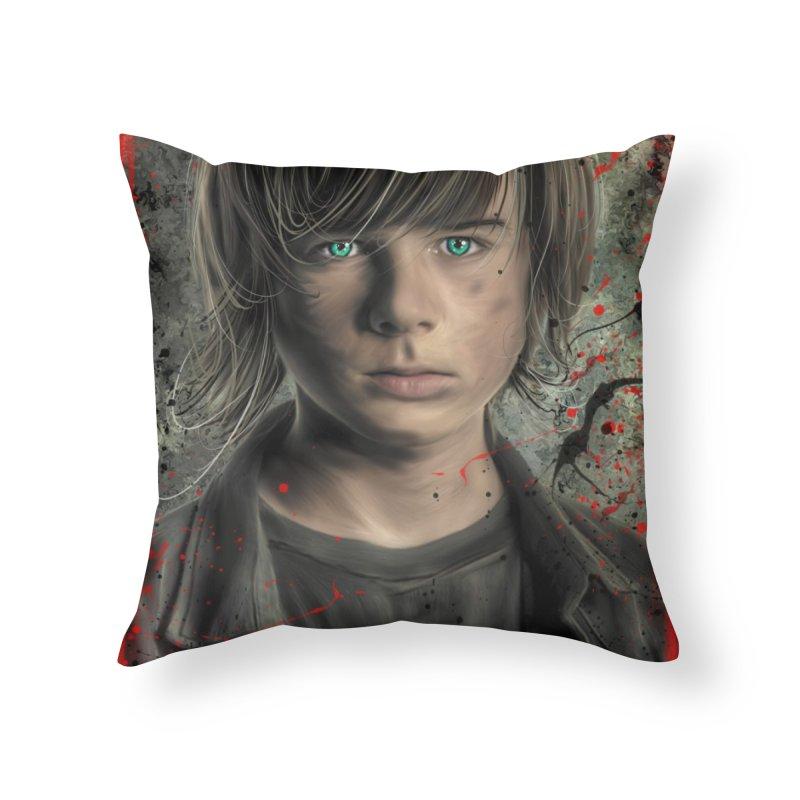Carl Grimes - The Walking Dead Home Throw Pillow by EvoComicsInc's Artist Shop
