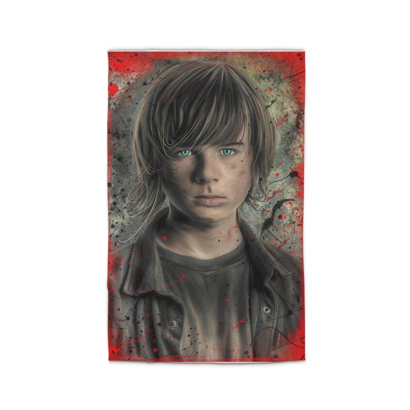 Carl Grimes - The Walking Dead Home Rug by EvoComicsInc's Artist Shop