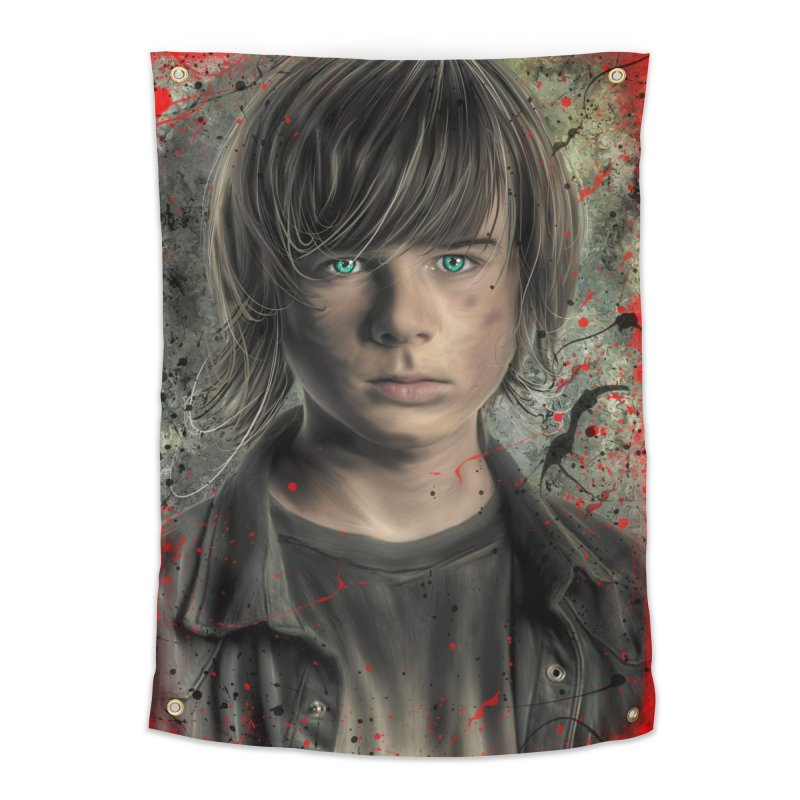 Carl Grimes - The Walking Dead Home Tapestry by EvoComicsInc's Artist Shop