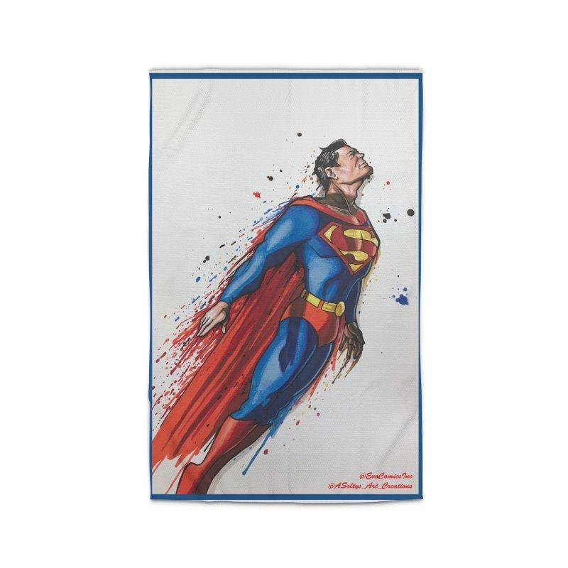 Superman Home Rug by EvoComicsInc's Artist Shop