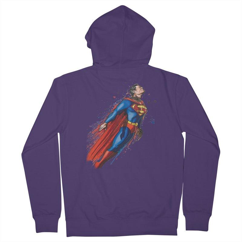 Superman Women's Zip-Up Hoody by EvoComicsInc's Artist Shop