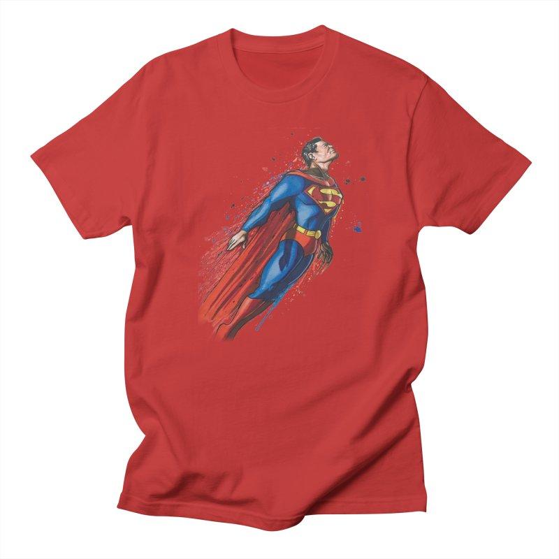 Superman Women's Unisex T-Shirt by EvoComicsInc's Artist Shop