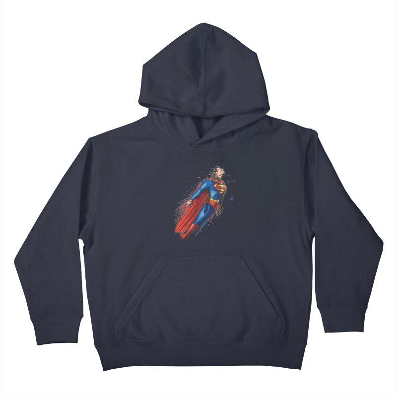 Superman Kids Pullover Hoody by EvoComicsInc's Artist Shop