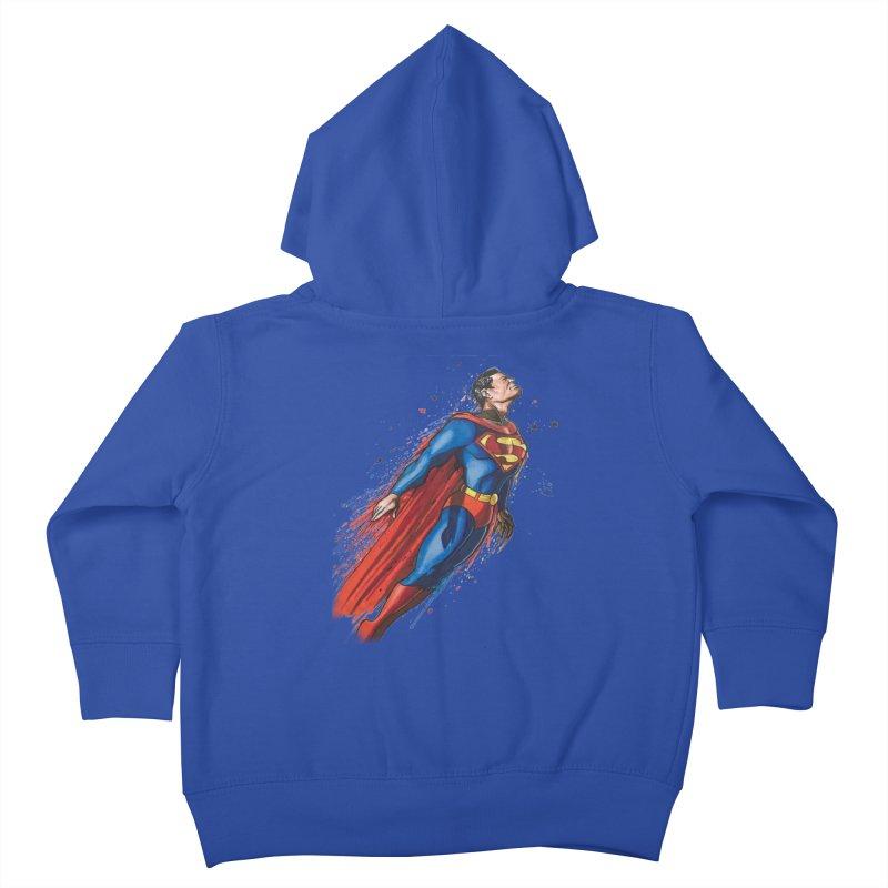 Superman Kids Toddler Zip-Up Hoody by EvoComicsInc's Artist Shop