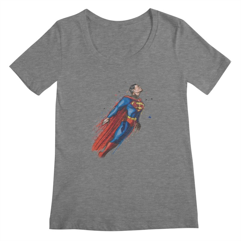 Superman Women's  by EvoComicsInc's Artist Shop