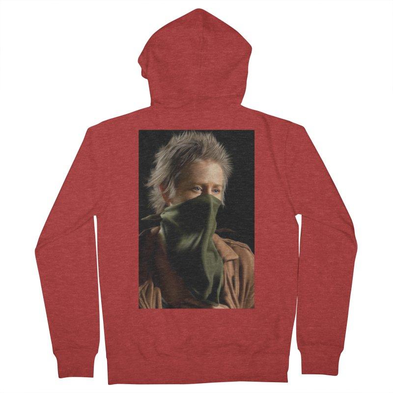 Carol - The Walking Dead Men's Zip-Up Hoody by EvoComicsInc's Artist Shop