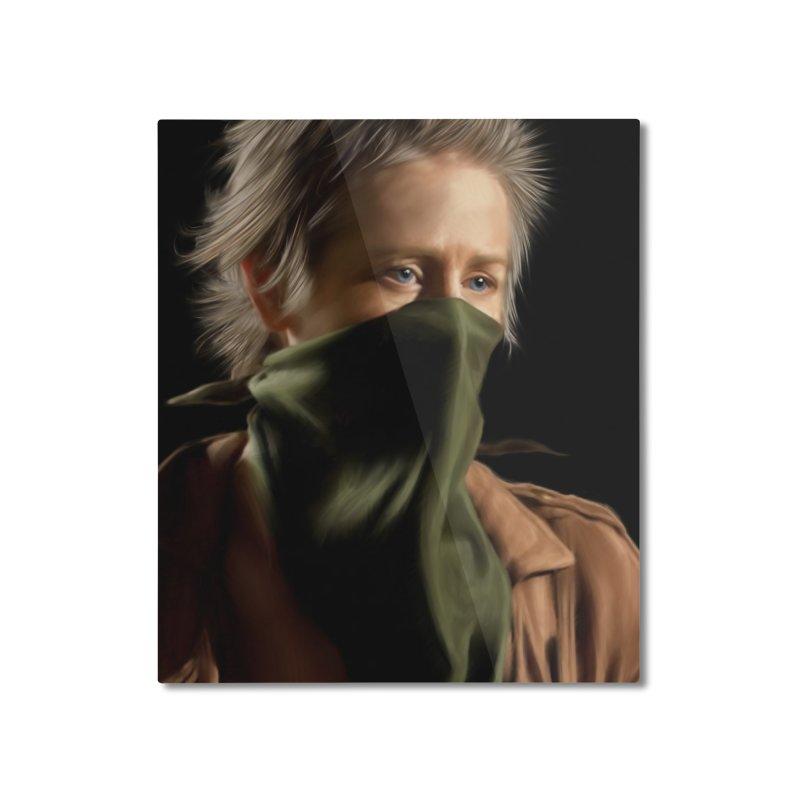 Carol - The Walking Dead Home Mounted Aluminum Print by EvoComicsInc's Artist Shop