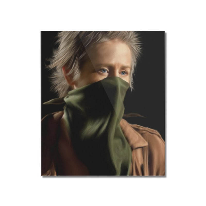 Carol - The Walking Dead Home Mounted Acrylic Print by EvoComicsInc's Artist Shop