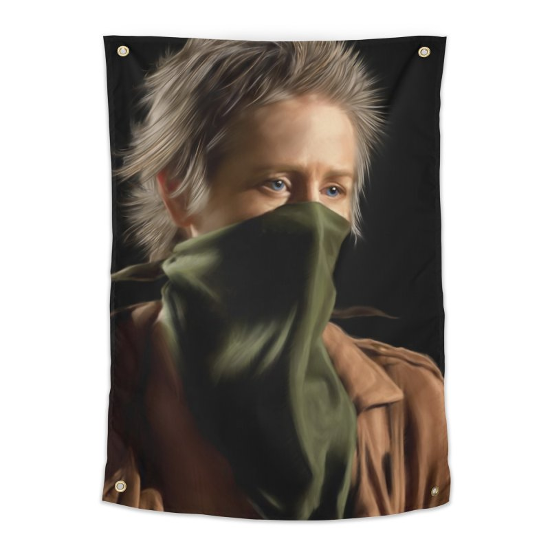 Carol - The Walking Dead Home Tapestry by EvoComicsInc's Artist Shop
