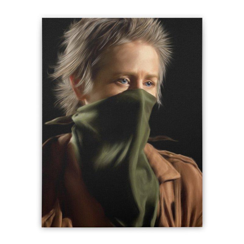 Carol - The Walking Dead Home Stretched Canvas by EvoComicsInc's Artist Shop