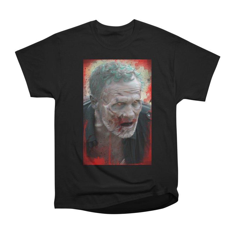Walker Mural Dixon - The Walking Dead Men's Classic T-Shirt by EvoComicsInc's Artist Shop