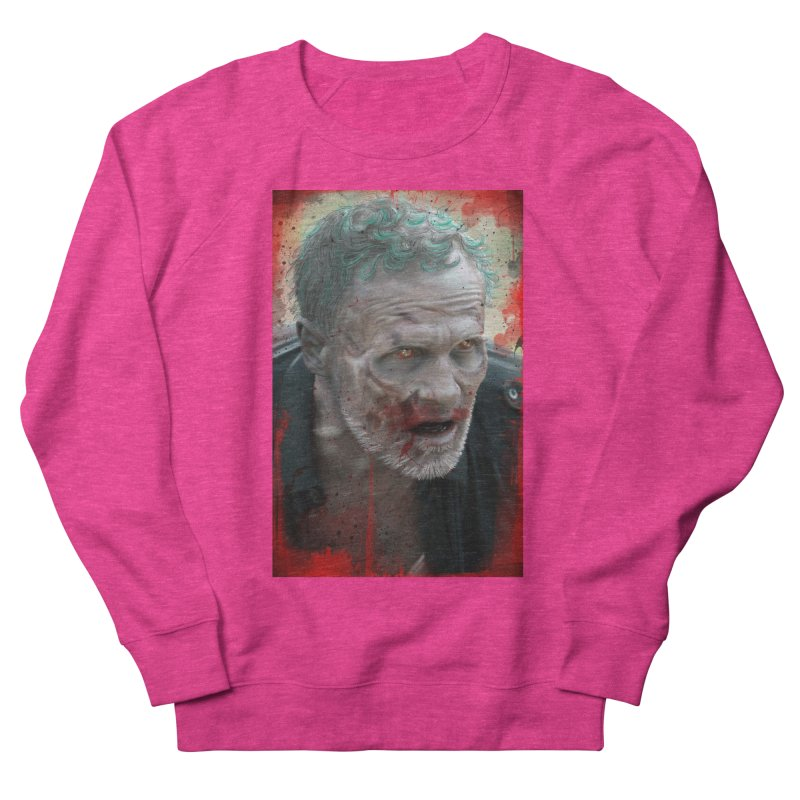 Walker Mural Dixon - The Walking Dead Men's Sweatshirt by EvoComicsInc's Artist Shop