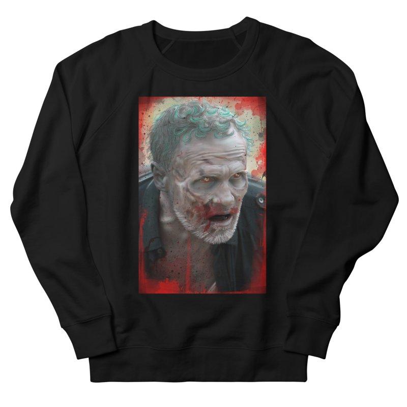 Walker Mural Dixon - The Walking Dead Men's Sweatshirt by EvoComicsInc's Artist Shop