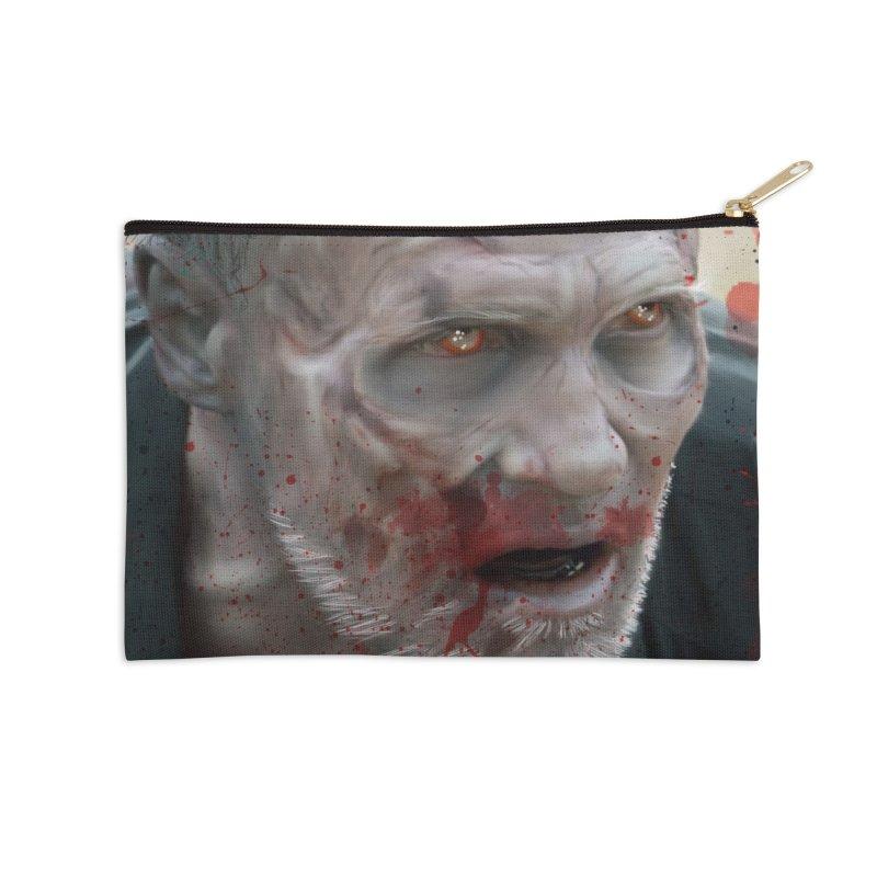 Walker Mural Dixon - The Walking Dead Accessories Zip Pouch by EvoComicsInc's Artist Shop