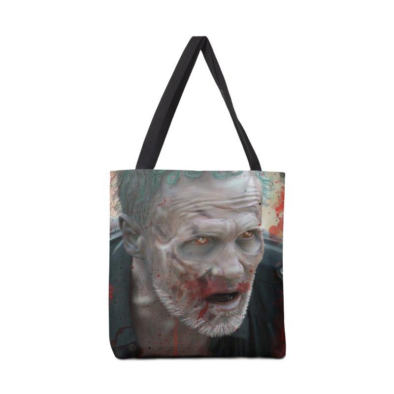 Walker Mural Dixon - The Walking Dead Accessories Bag by EvoComicsInc's Artist Shop