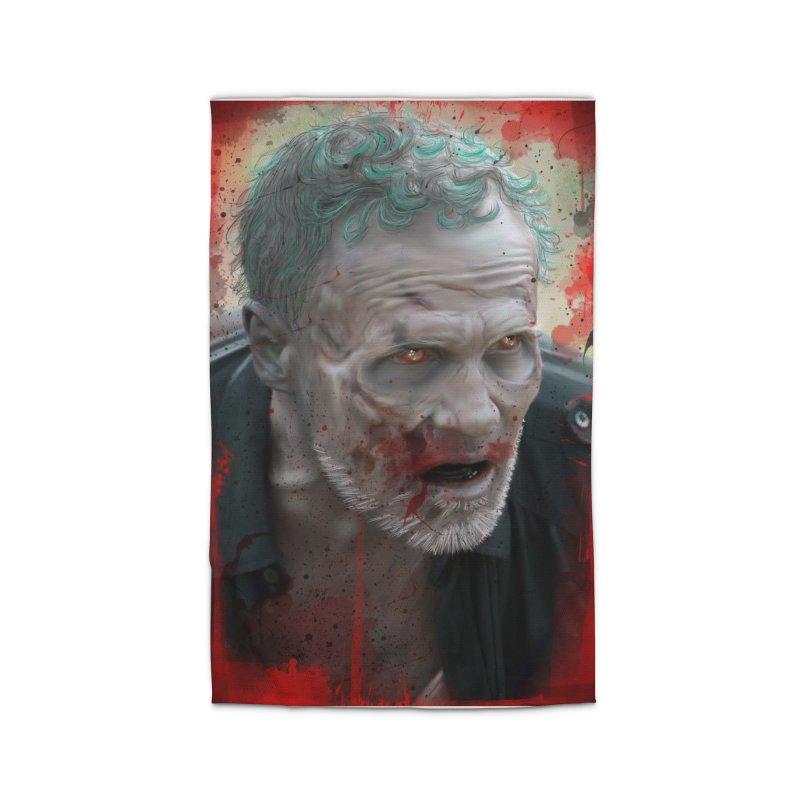 Walker Mural Dixon - The Walking Dead Home Rug by EvoComicsInc's Artist Shop