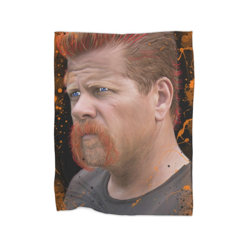 Abraham Ford - The Walking Dead Home Blanket by EvoComicsInc's Artist Shop
