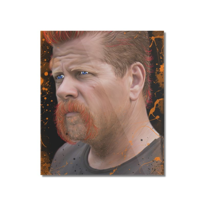 Abraham Ford - The Walking Dead Home Mounted Acrylic Print by EvoComicsInc's Artist Shop