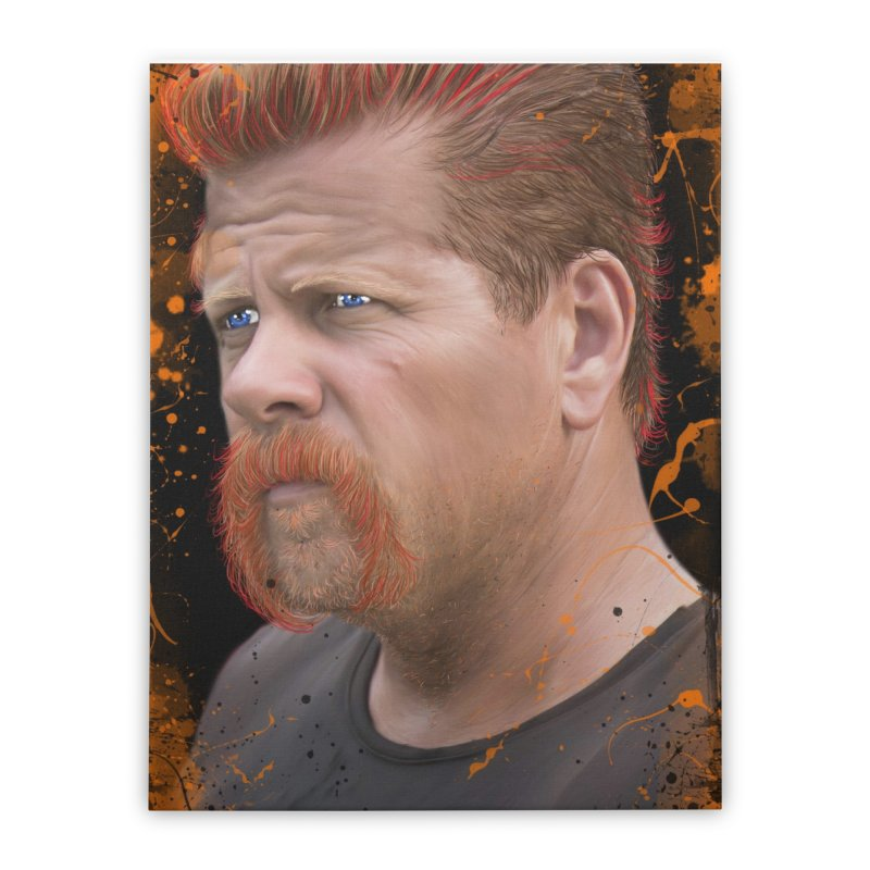Abraham Ford - The Walking Dead Home Stretched Canvas by EvoComicsInc's Artist Shop
