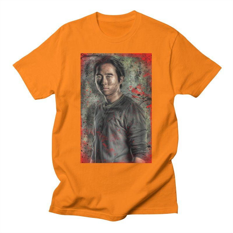 Glenn Rhee - The Walking Dead Men's T-Shirt by Evolution Comics INC