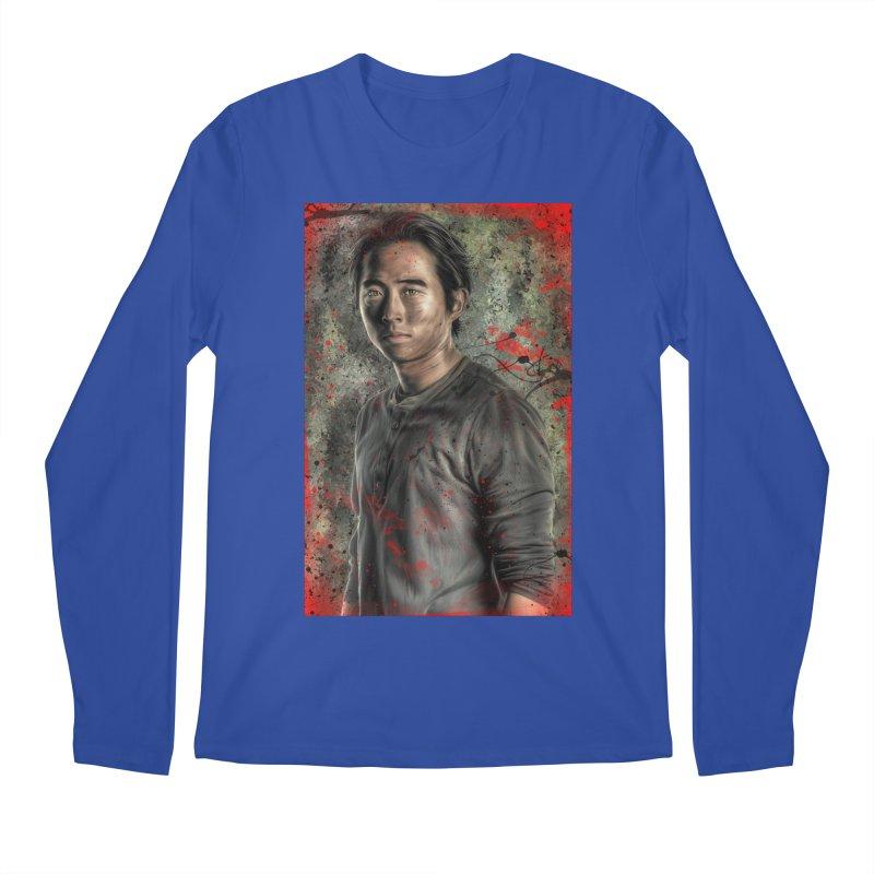 Glenn Rhee - The Walking Dead Men's Regular Longsleeve T-Shirt by EvoComicsInc's Artist Shop