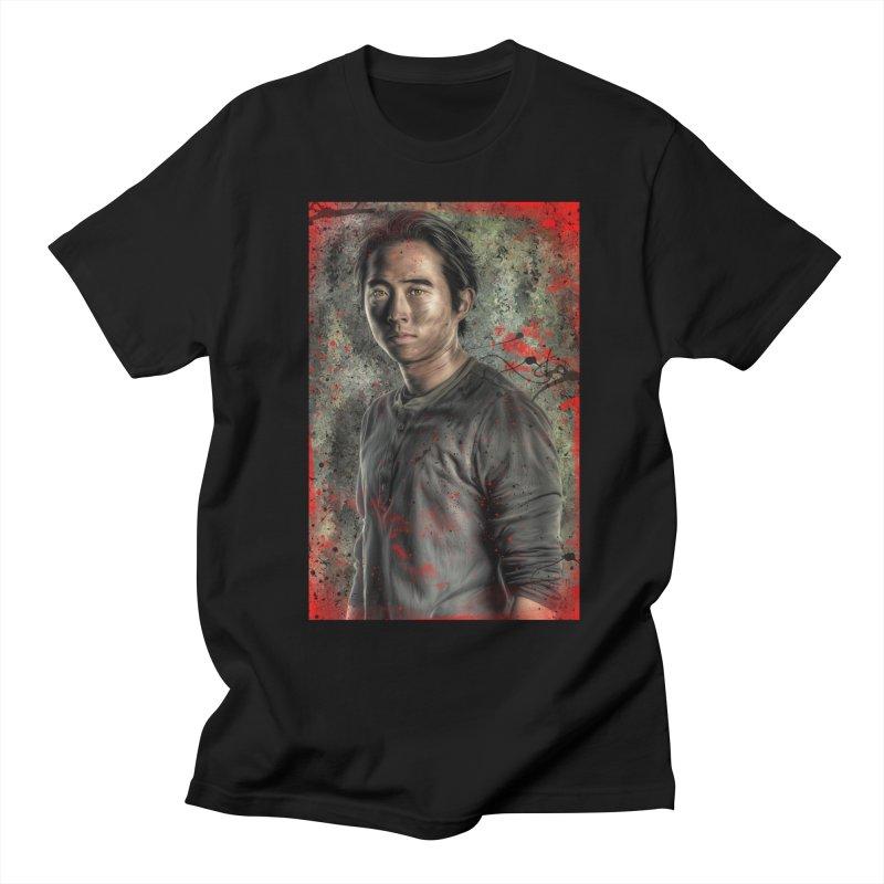 Glenn Rhee - The Walking Dead Men's T-Shirt by EvoComicsInc's Artist Shop