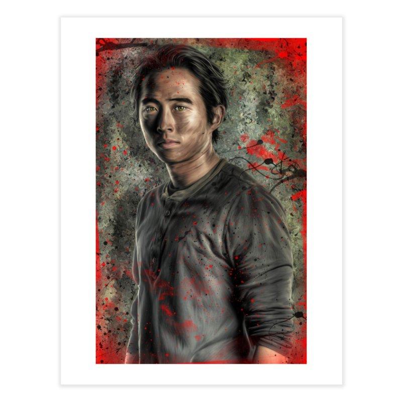 Glenn Rhee - The Walking Dead Home Fine Art Print by EvoComicsInc's Artist Shop