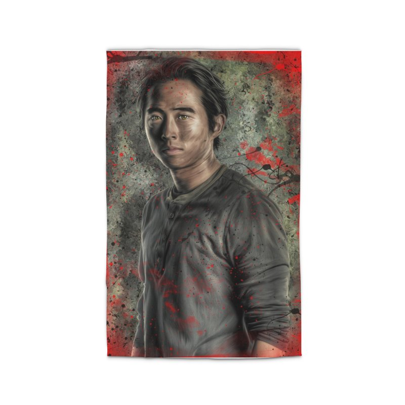 Glenn Rhee - The Walking Dead Home Rug by EvoComicsInc's Artist Shop