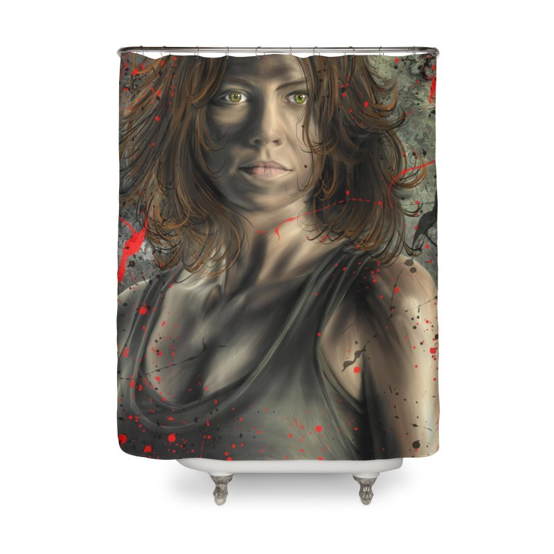 Maggie Greene Rhee Home Shower Curtain by EvoComicsInc's Artist Shop