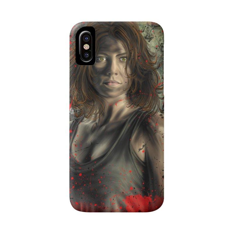 Maggie Greene Rhee Accessories Phone Case by EvoComicsInc's Artist Shop