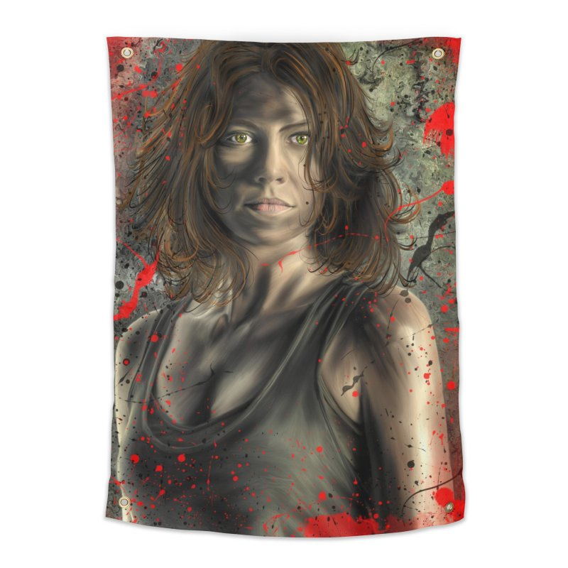 Maggie Greene Rhee Home Tapestry by EvoComicsInc's Artist Shop