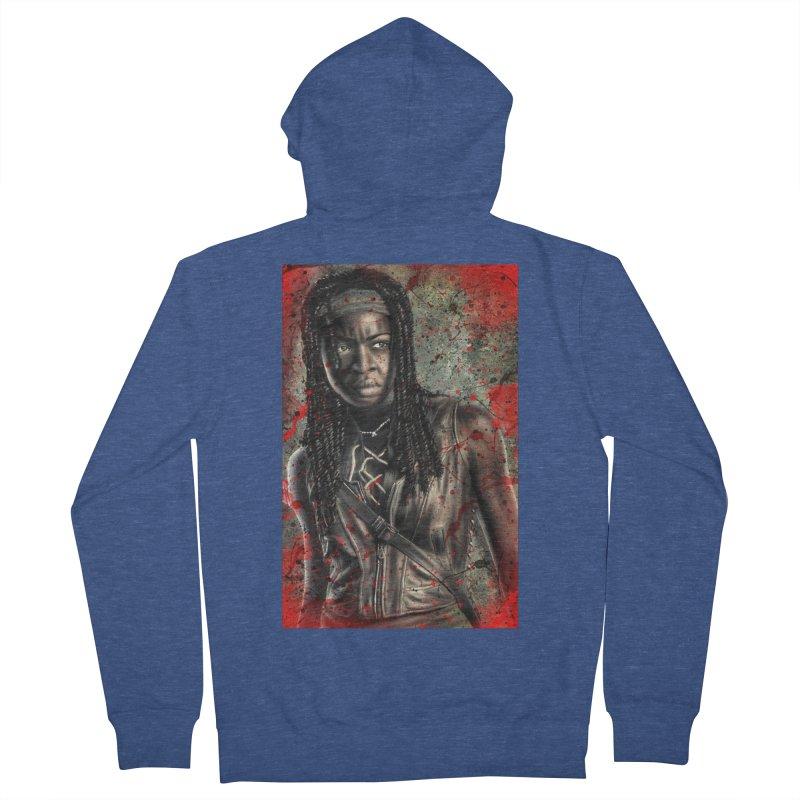 Michonne Men's Zip-Up Hoody by EvoComicsInc's Artist Shop